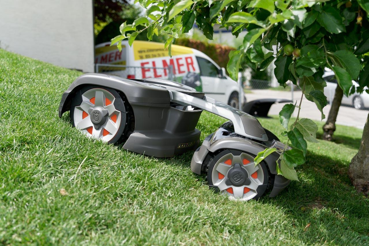 Rasenroboter 4x4
