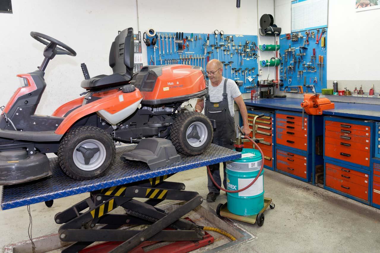 Werkstatt Motorgeräte