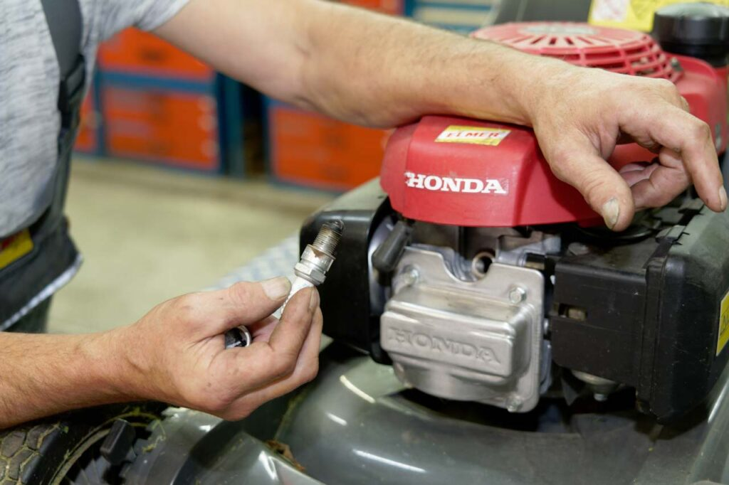 Werkstatt Rasenmäher Honda