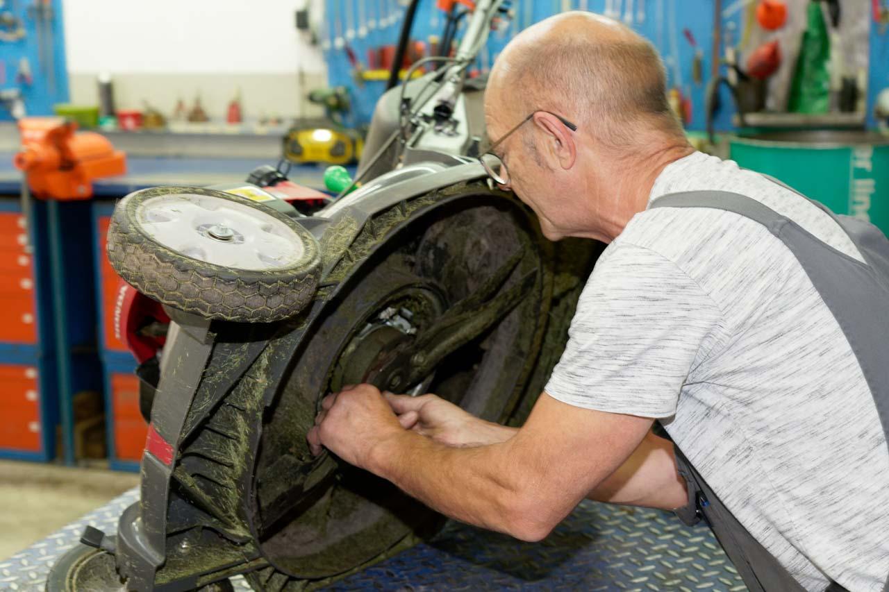 Fachwerkstatt Honda Rasenmäher